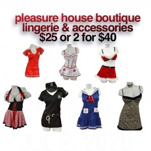 Lingerie and costumes